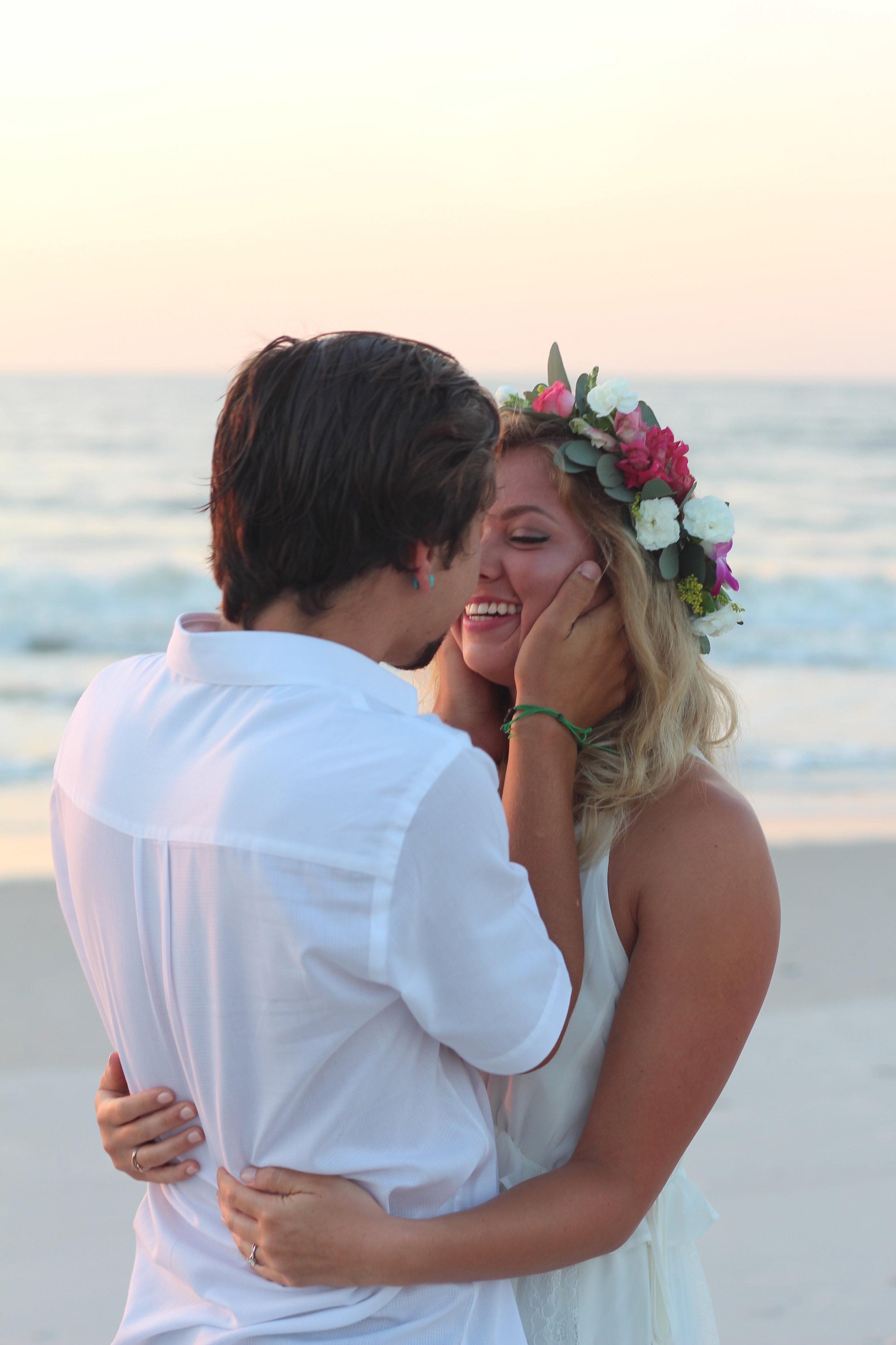 Amelia Island Beach Wedding Flowers