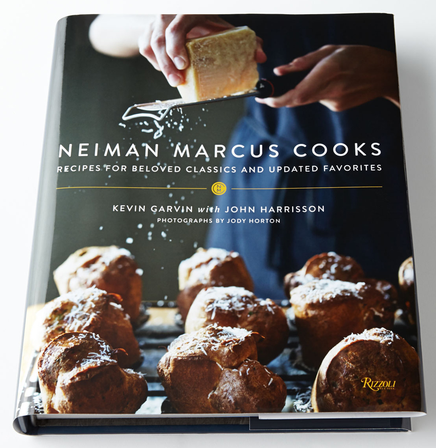 Neiman Marcus's new cookbook ,available in stores Fall 2014