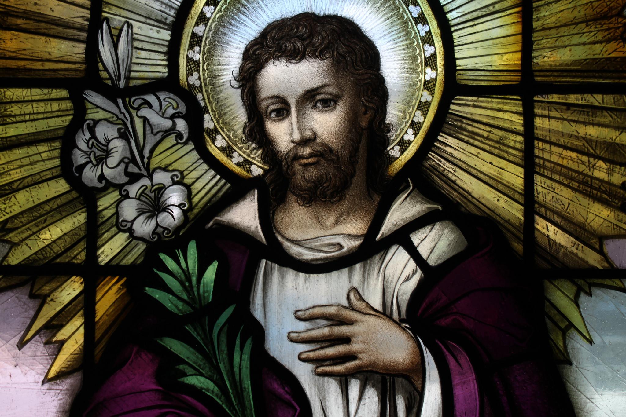 St Joseph Stained Glass Fr James Bradley Flickr St Casimir Church Baltimore, Maryland