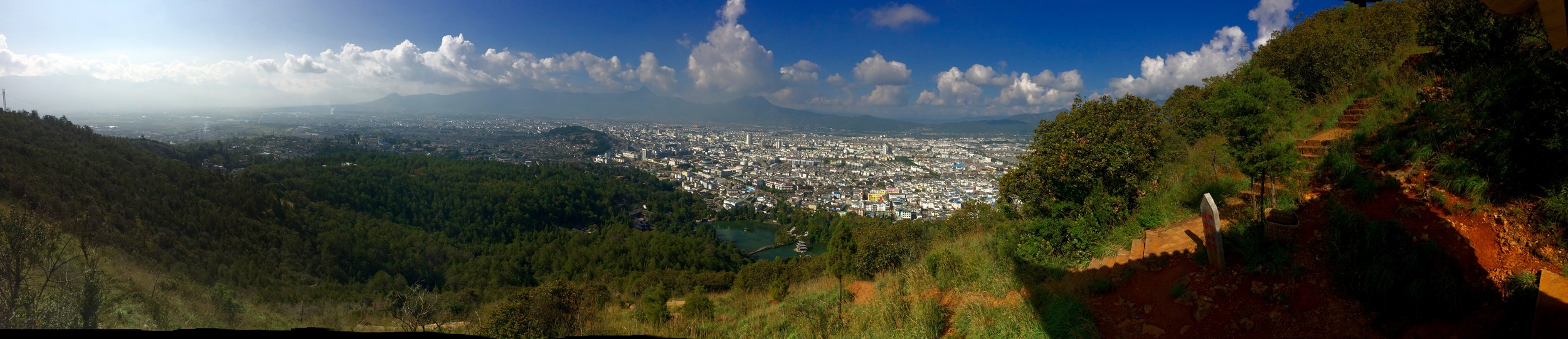 View from Elephant Hill in Liajang