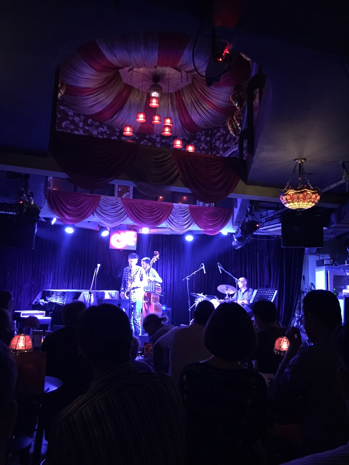 Partikel on stage at JZ Club Shanghai