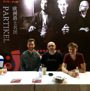 Partikel post gig at the JZ Festival Wuhan
