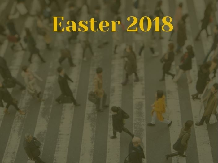 The Three Crowds of Holy Week