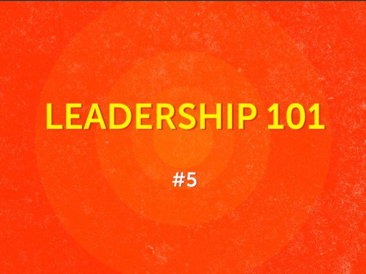 #5 - Leaders Are Partners, Companions & Friends