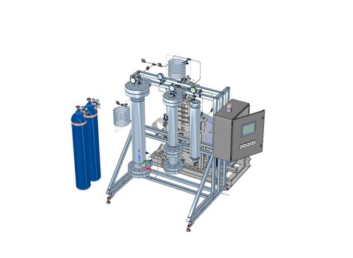 20 Liter 1500 PSI - - Extraction 20L Max 1500 psi- Collection 15L Max 1000 psi- 2nd Collection 10L Max 500 psi- Liquid CO2 Storage 75L- Fully Automated Control Panel- Daily Throughput 100 lbs