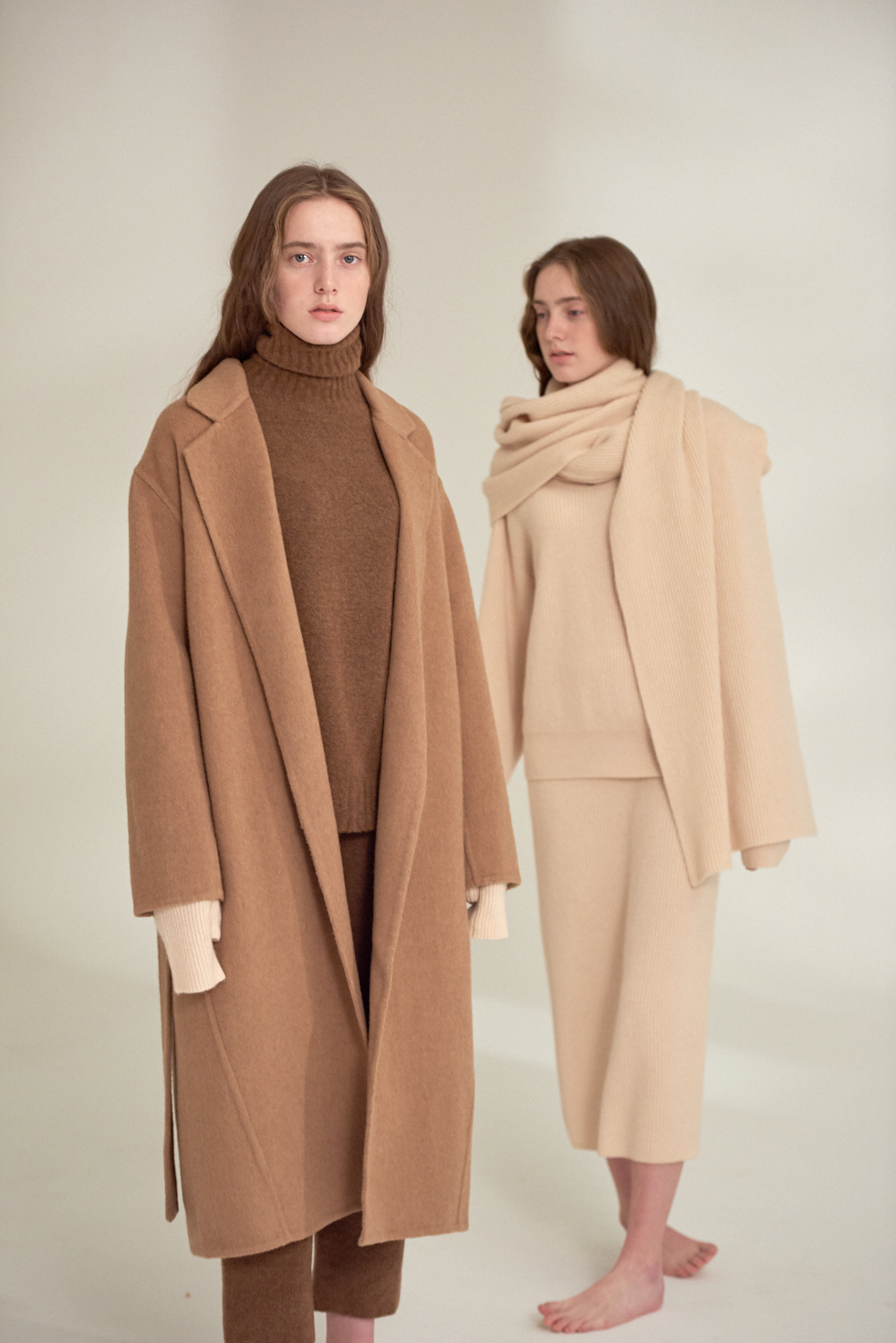 Camel coat by ARCH THE. Available in early August.