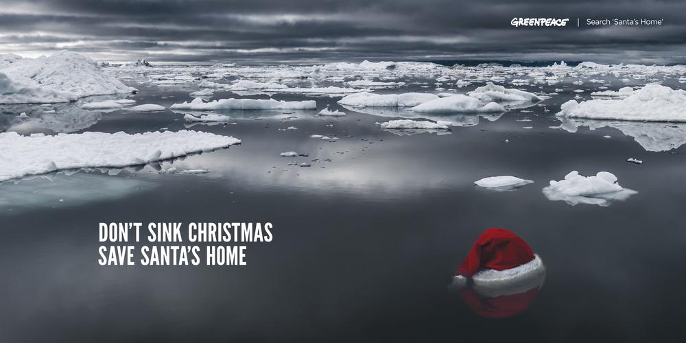 ART DIRECTION: Greenpeace: Save Santa's Home