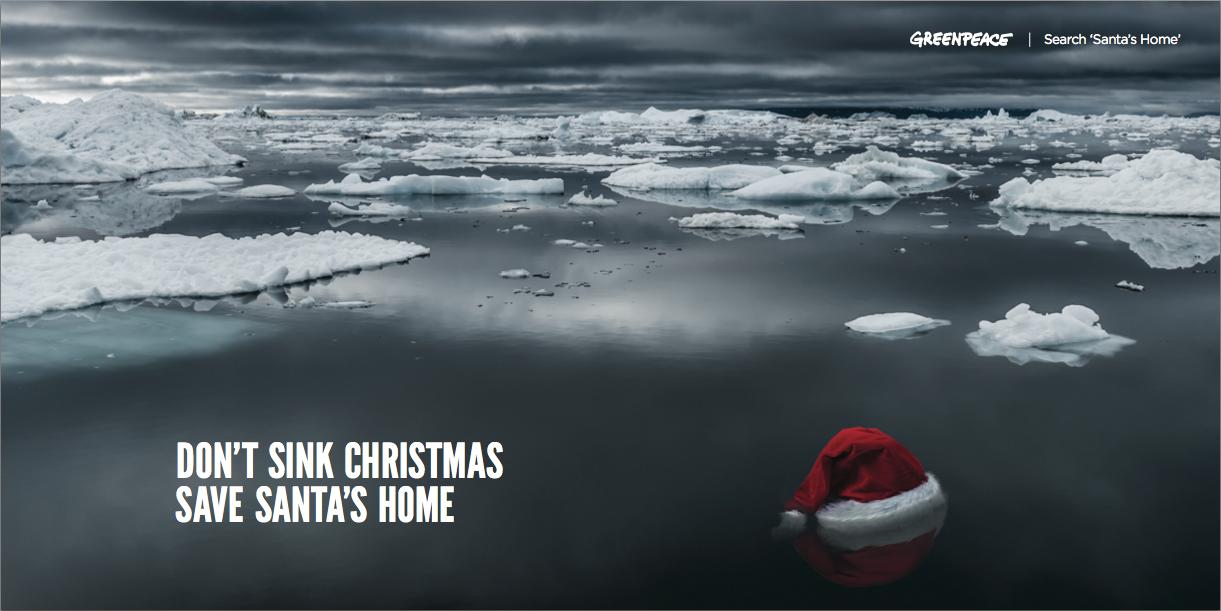 Greenpeace_Save_Santa's_Home_Natalie_Palmer_Sutton_Eric_Terchila_Poster