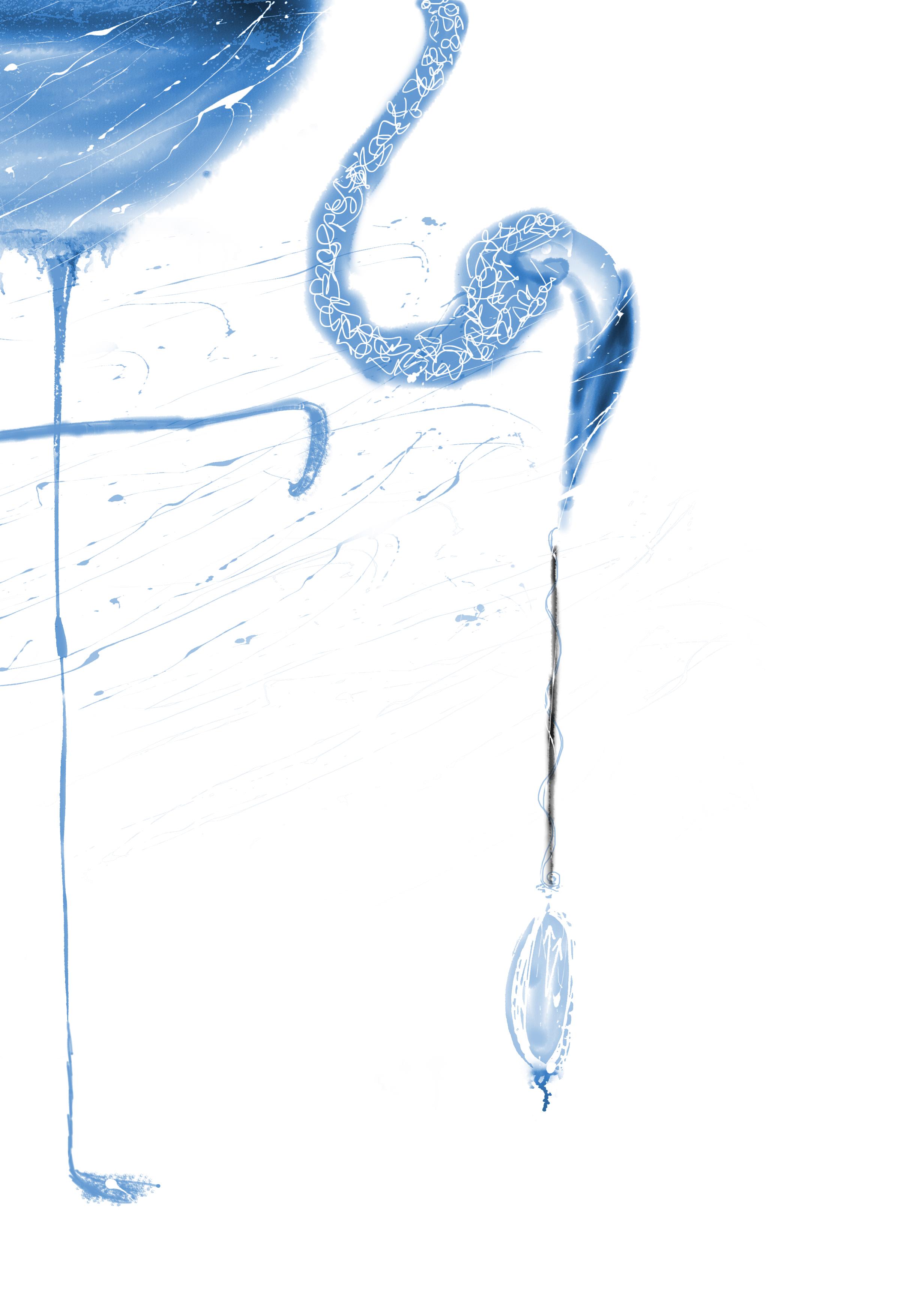 flamingo_clock_time_Alice_wonderland_natalie_palmer_sutton_illustration