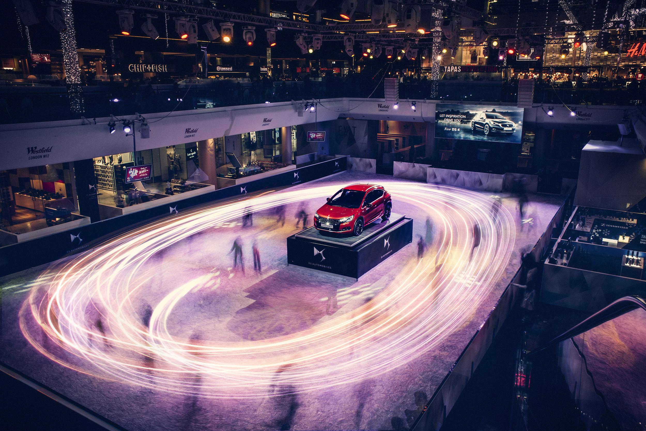 ds ice rink lights