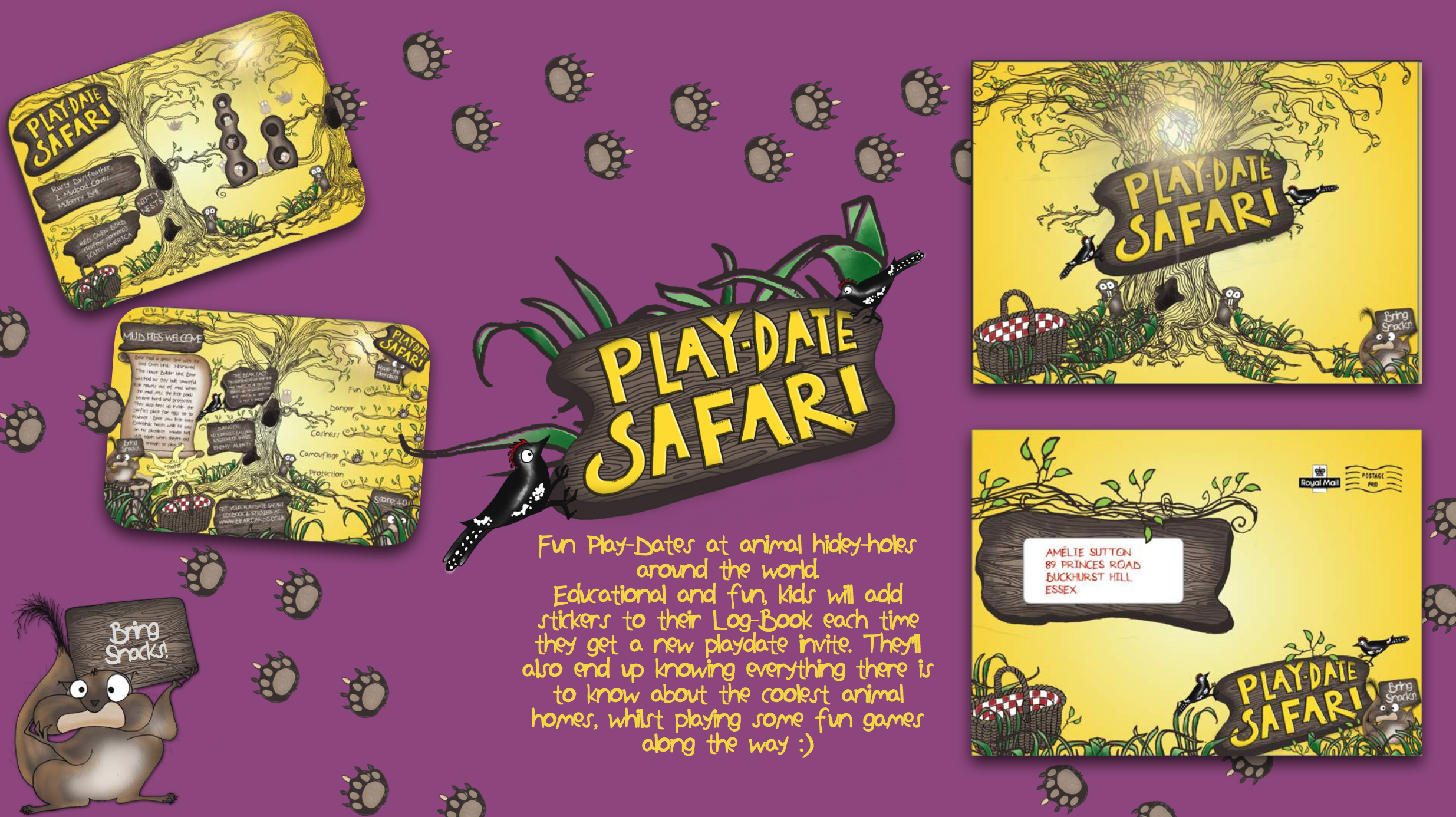 Natalie Palmer Sutton | hand illustrated ideas for Bear Nibbles 21.png