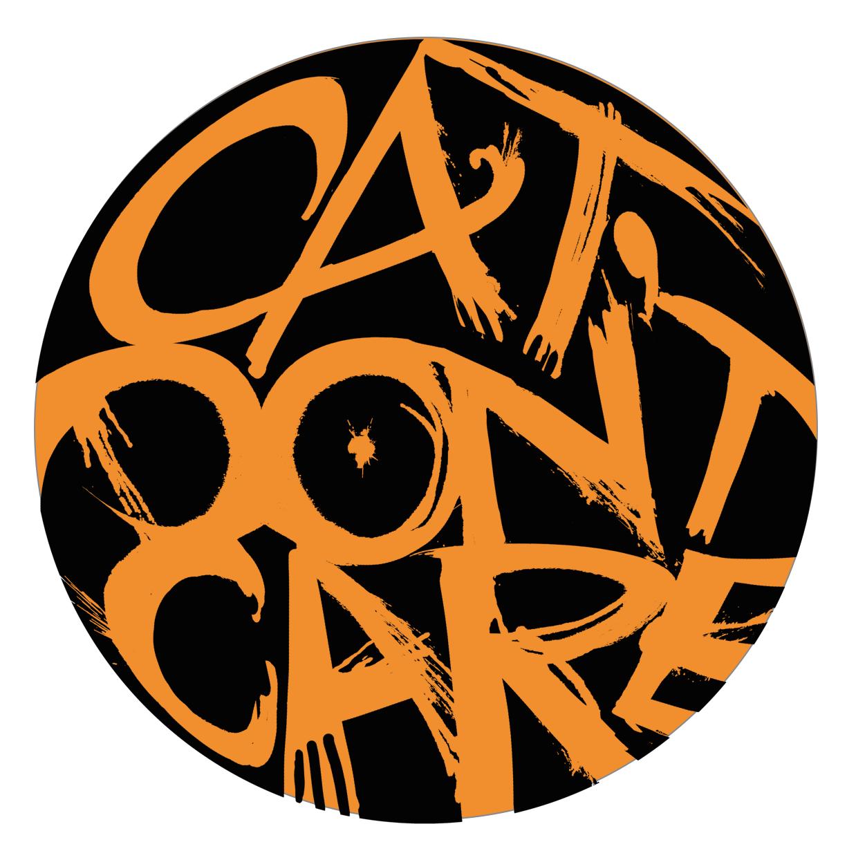 CAT DON'T CARE HALLOWEEN LOGO | SPOOKY CAT STUFF | FUNNY CAT PICS | CAT ARTIST