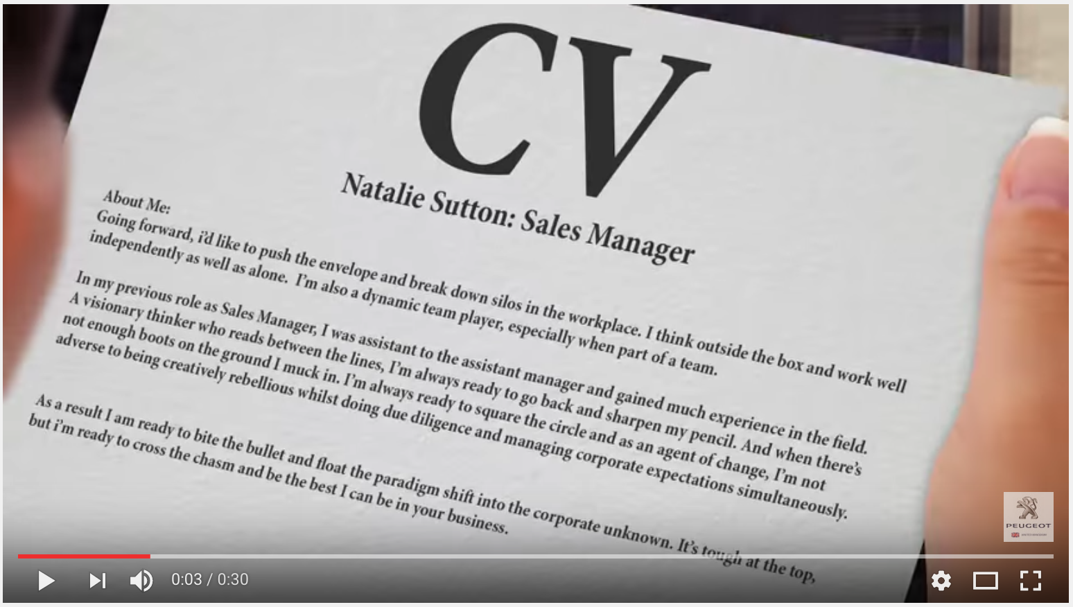 "SCREENGRAB FROM ""BIG OPPORTUNITY"" 