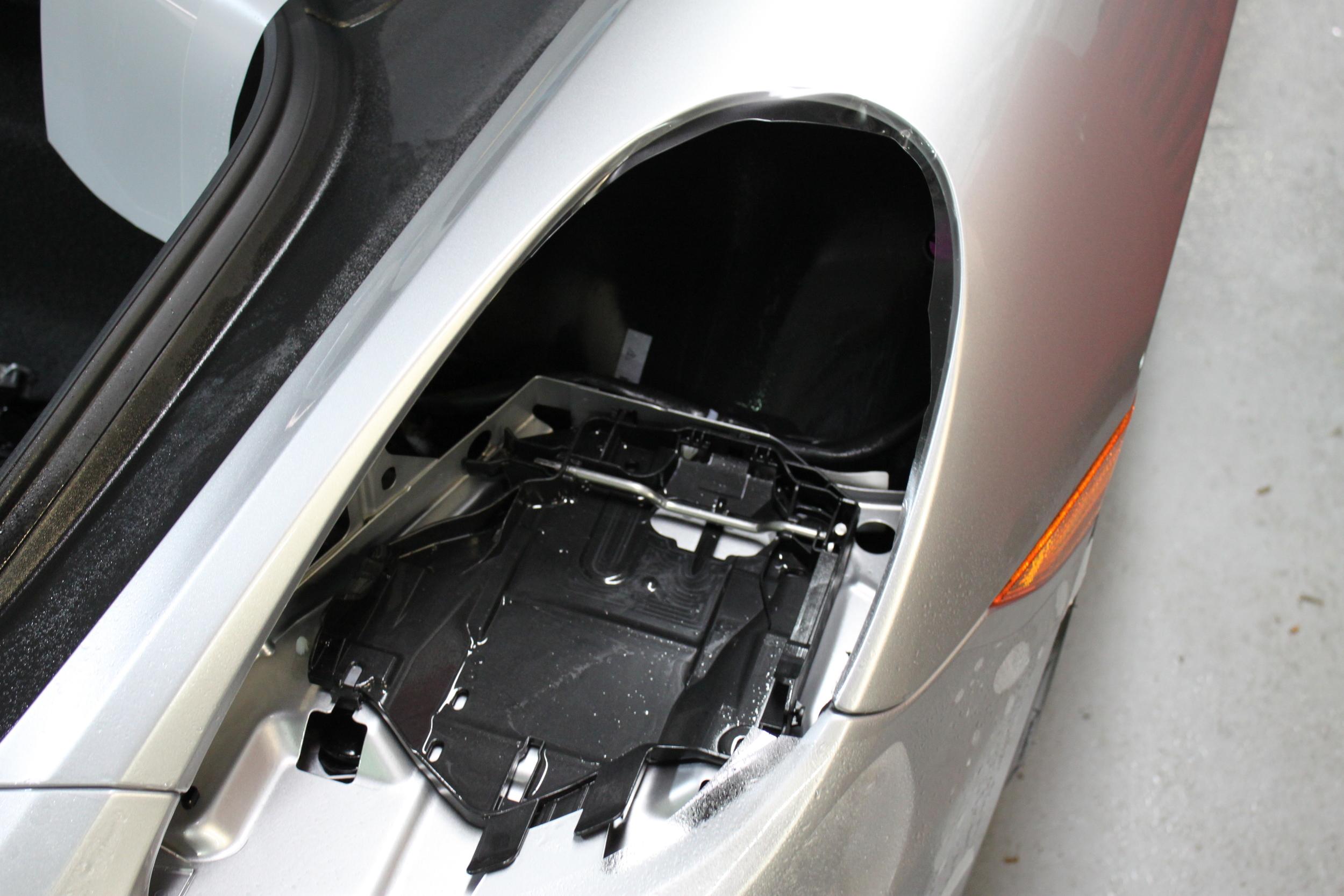Headlight Removal for Custom Clear Bra Wrap