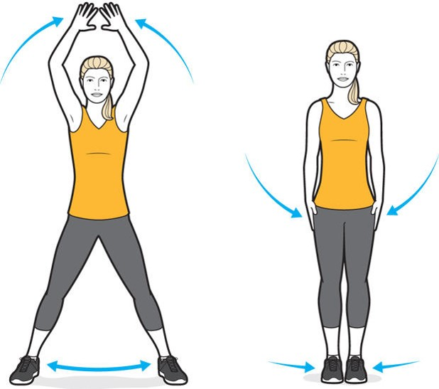 Take our 31-day jumping jack challenge
