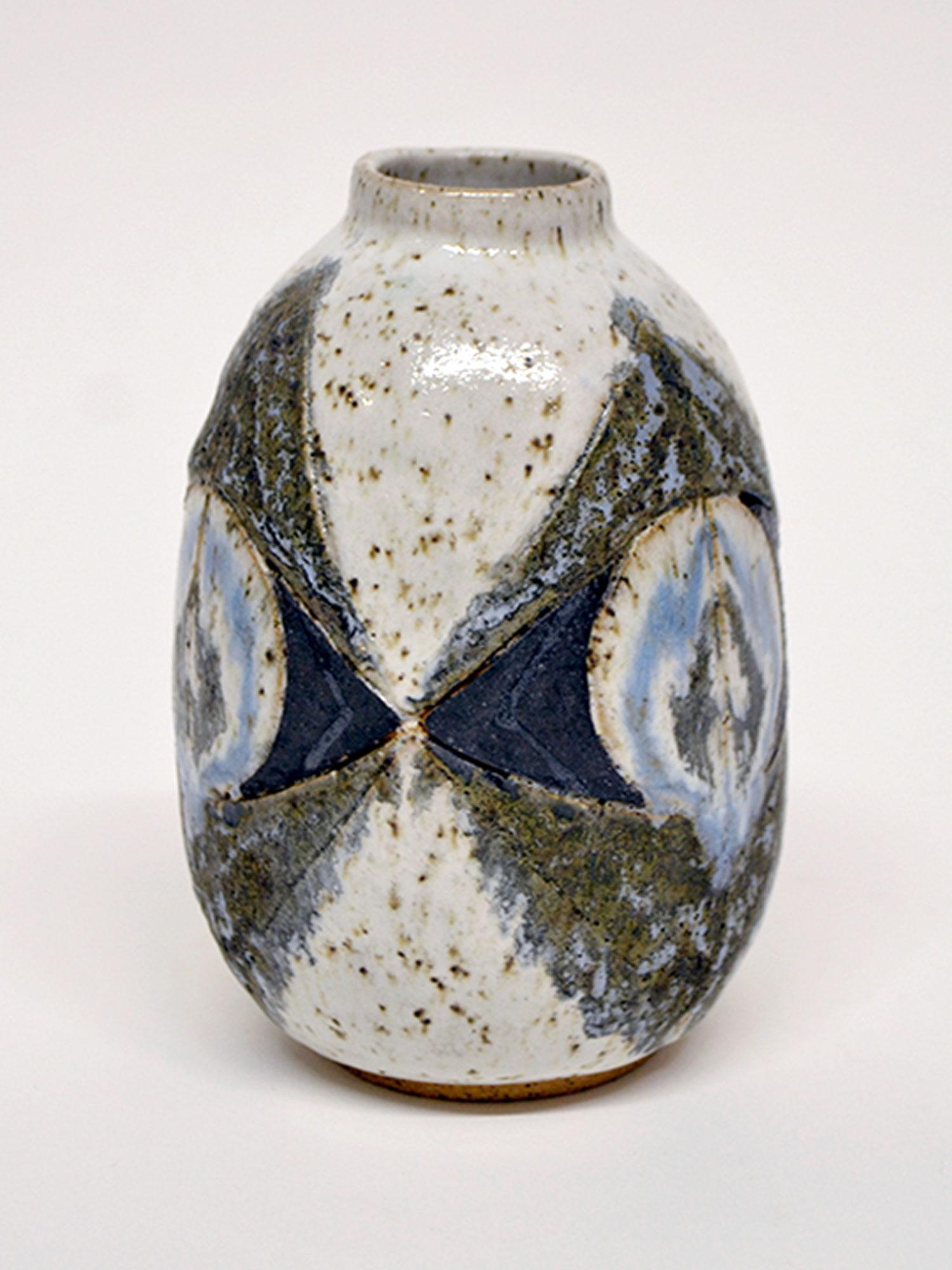 Sake Mask Vase