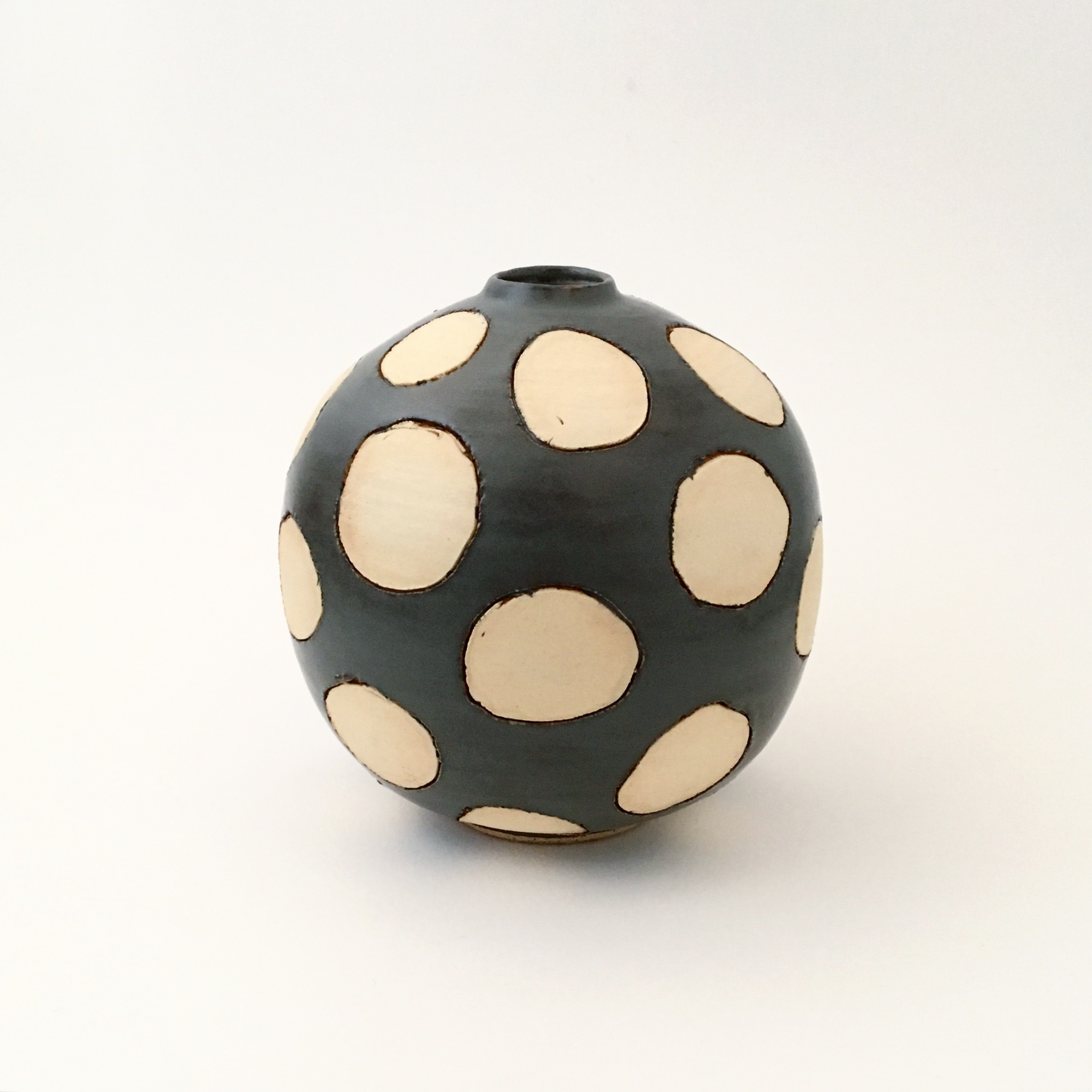 Snowball Bud Vase