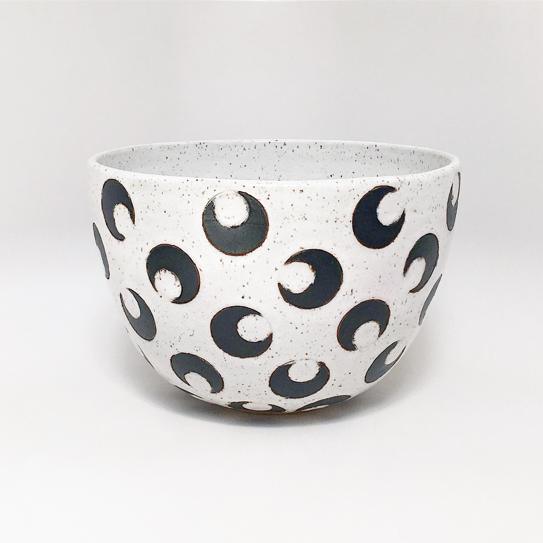 Black Crescent Moon Bowl