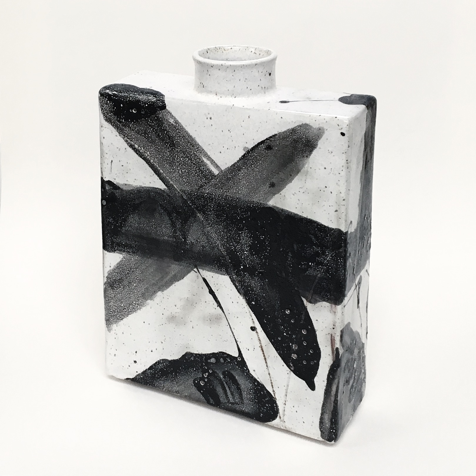 Abstract X Vase