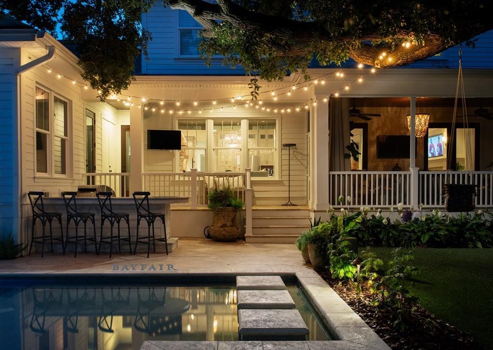 Sunset Park Rear Porch