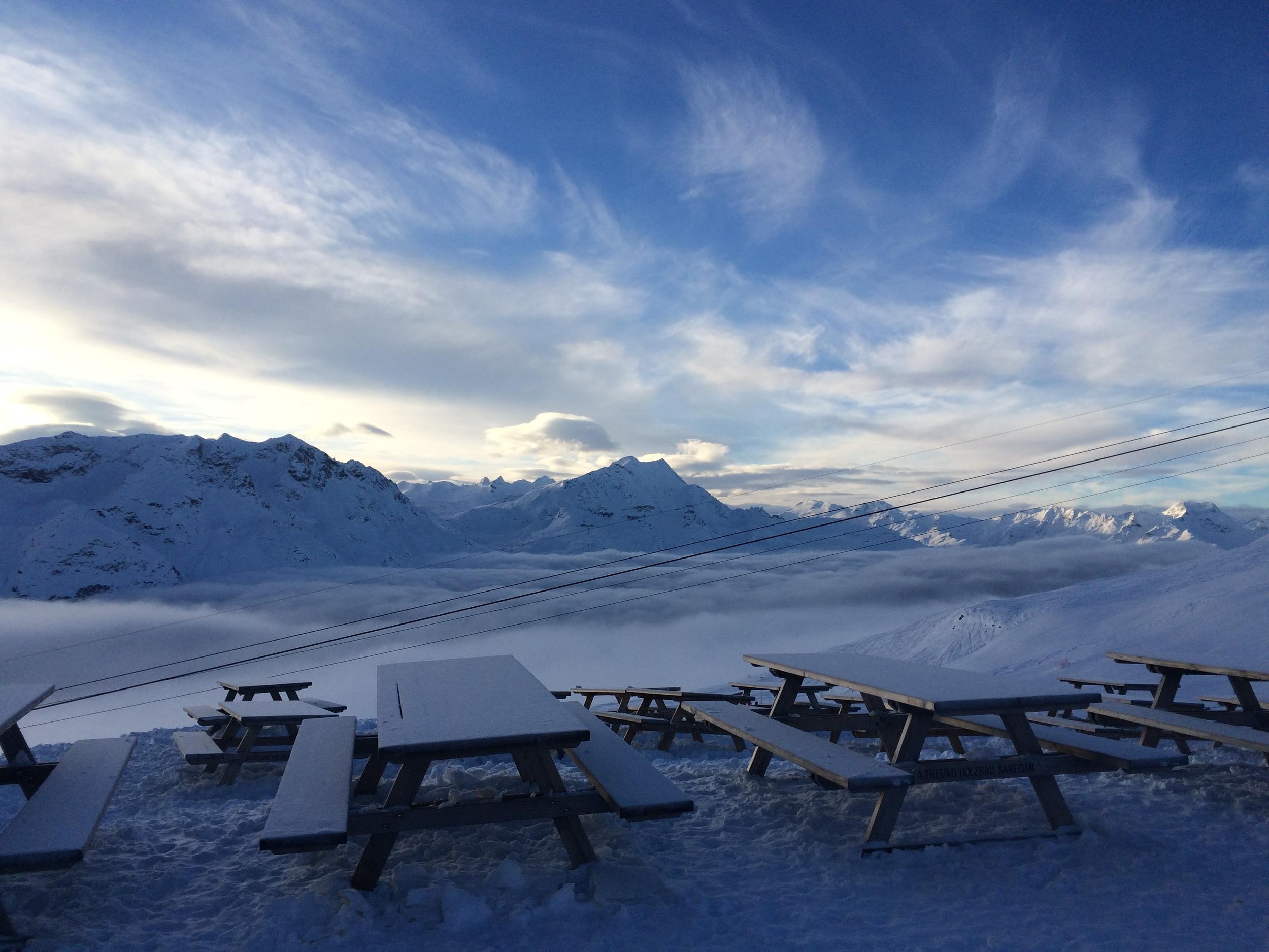 Nebelmeer im Winter