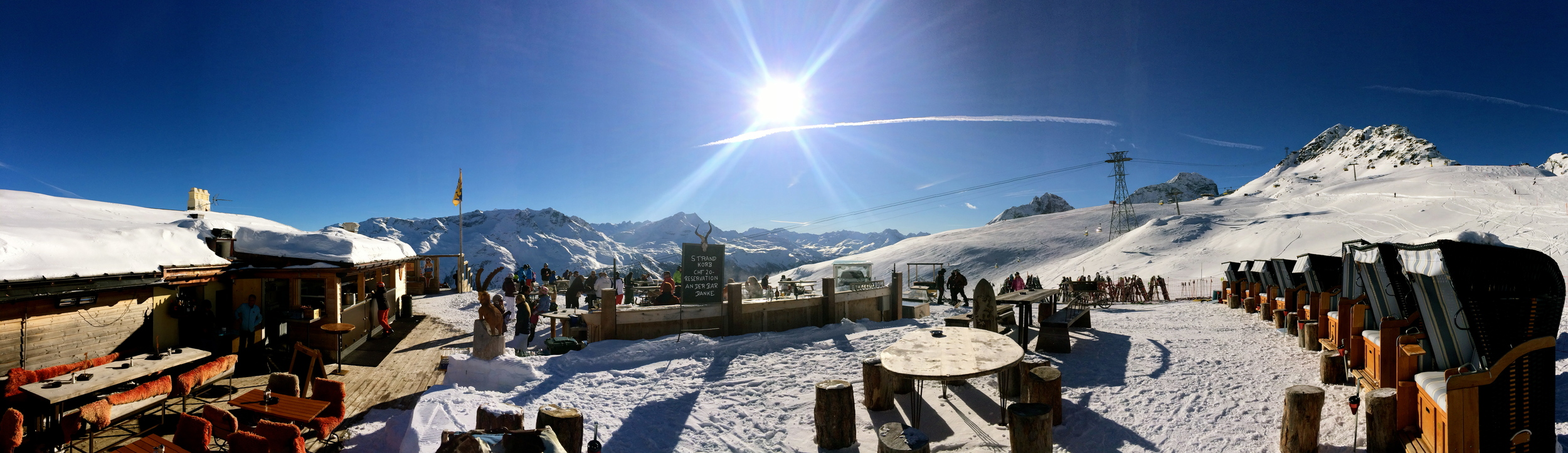 Bar Panorama Winter