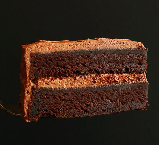 Vegan Chocolate Cake (Because sweet tooth)