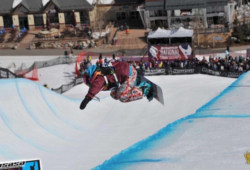 Riley, Snowboarding