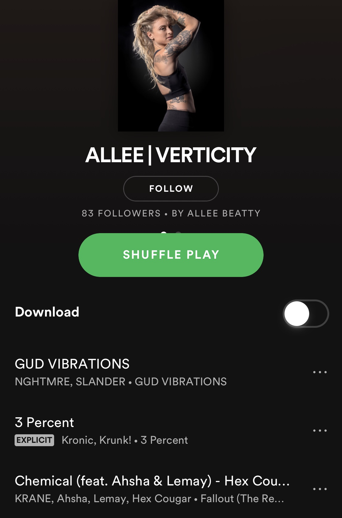 Allee Spotify