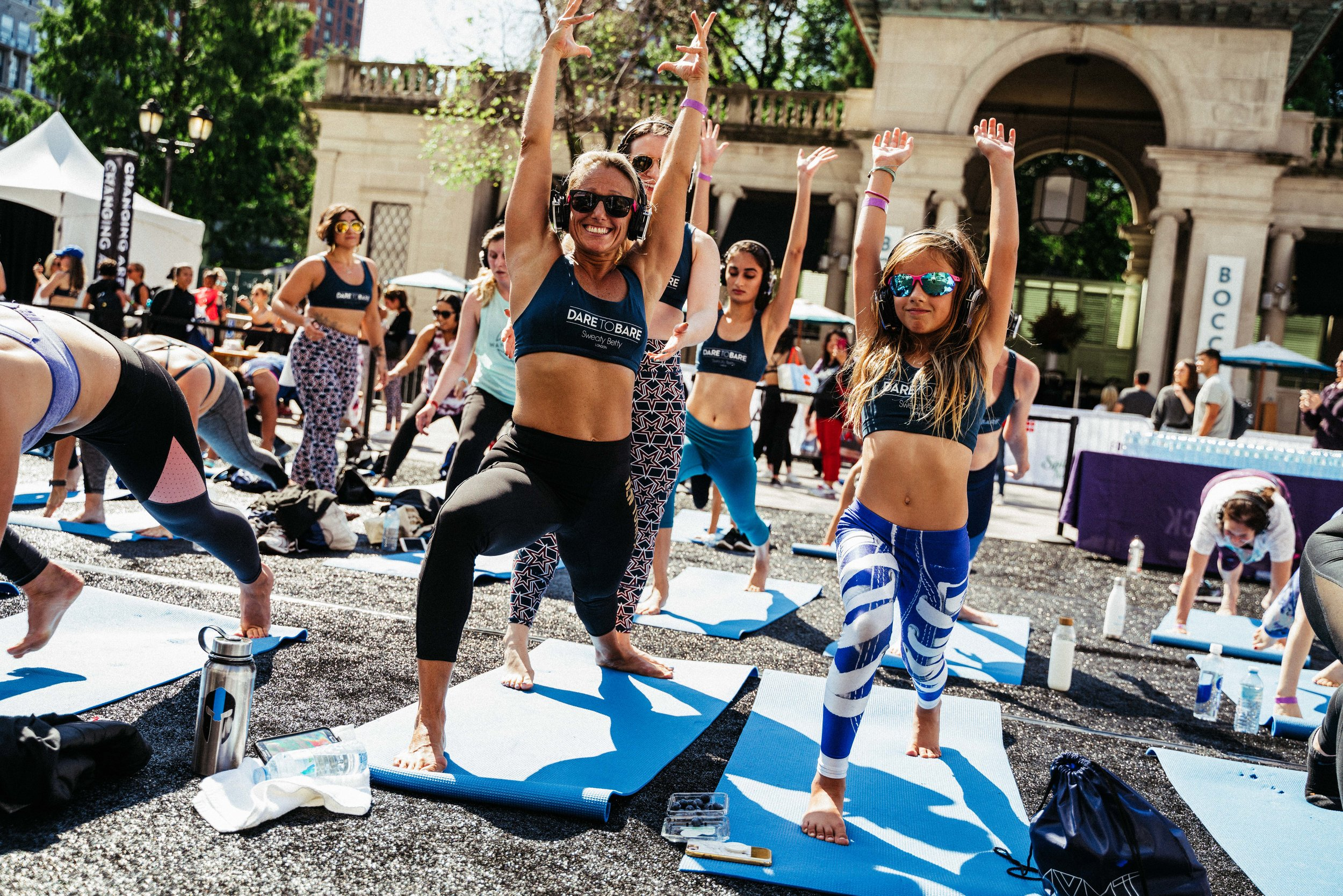 Mother-Daughter Workshop Classes - For the first time ever, We Dare to Bare will feature a Mother-Daughter, movement-based workshop based on Movemeant's very own middle school body-positive curriculum. Attendees will address critical communications around topics like media influence, genetics, being kind to yourself and others, and the importance of movement.