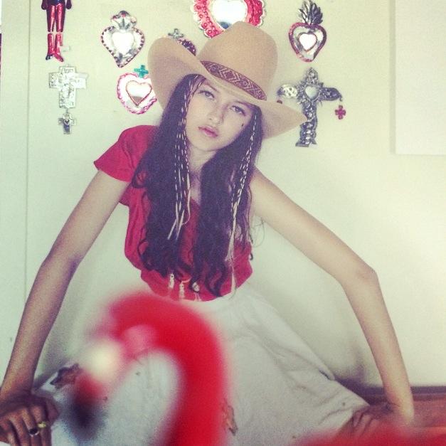 Art source:  Karen Inderbitzen-Waller ,  No Magazine , Model: Ella,  Clyne
