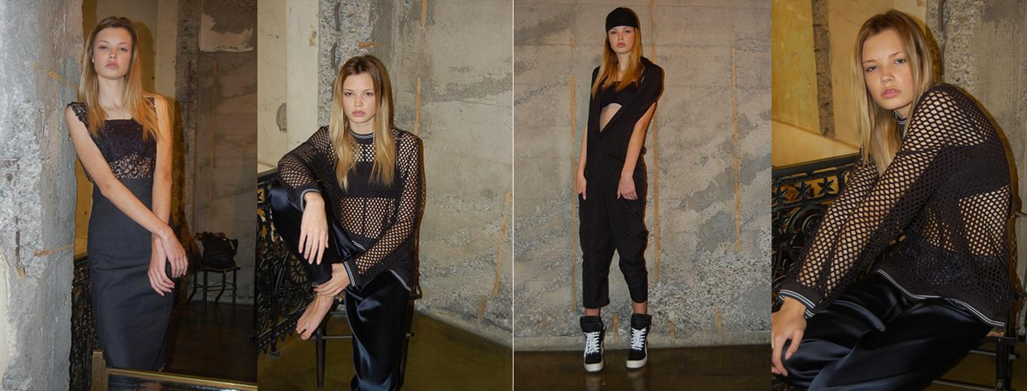 My digitals of Juliette on the FASHION SPOT, styling by Amanda Betts, cloting by Nom*D & Zambesi