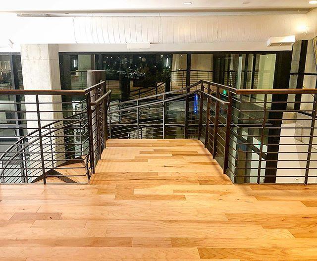 Latest #spiralstair in the books. Great to work with @coopercarry_hospitalitystudio on this one. #interiors #interiordesign #custom #steel #blackened #atlanta #buckhead #AMLI #architecture