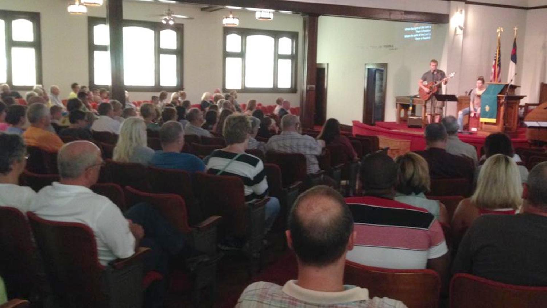 Community Back to School Prayer Service - Aug 2014