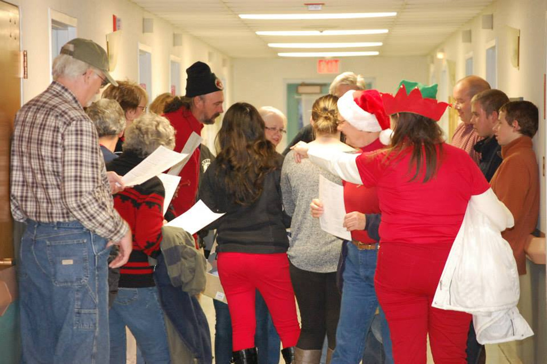 Caroling at CM Nursing & Rehabilitation Center - Dec 2013
