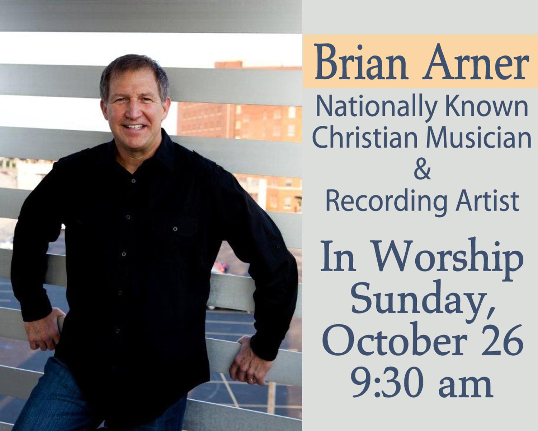 Brian Arner in Worship - Oct 2014