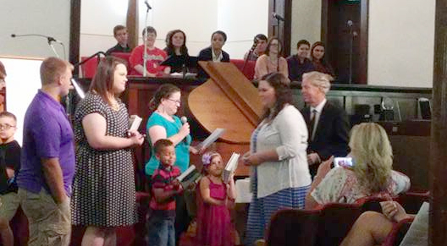 Graduate Recognition Sunday - May 2015