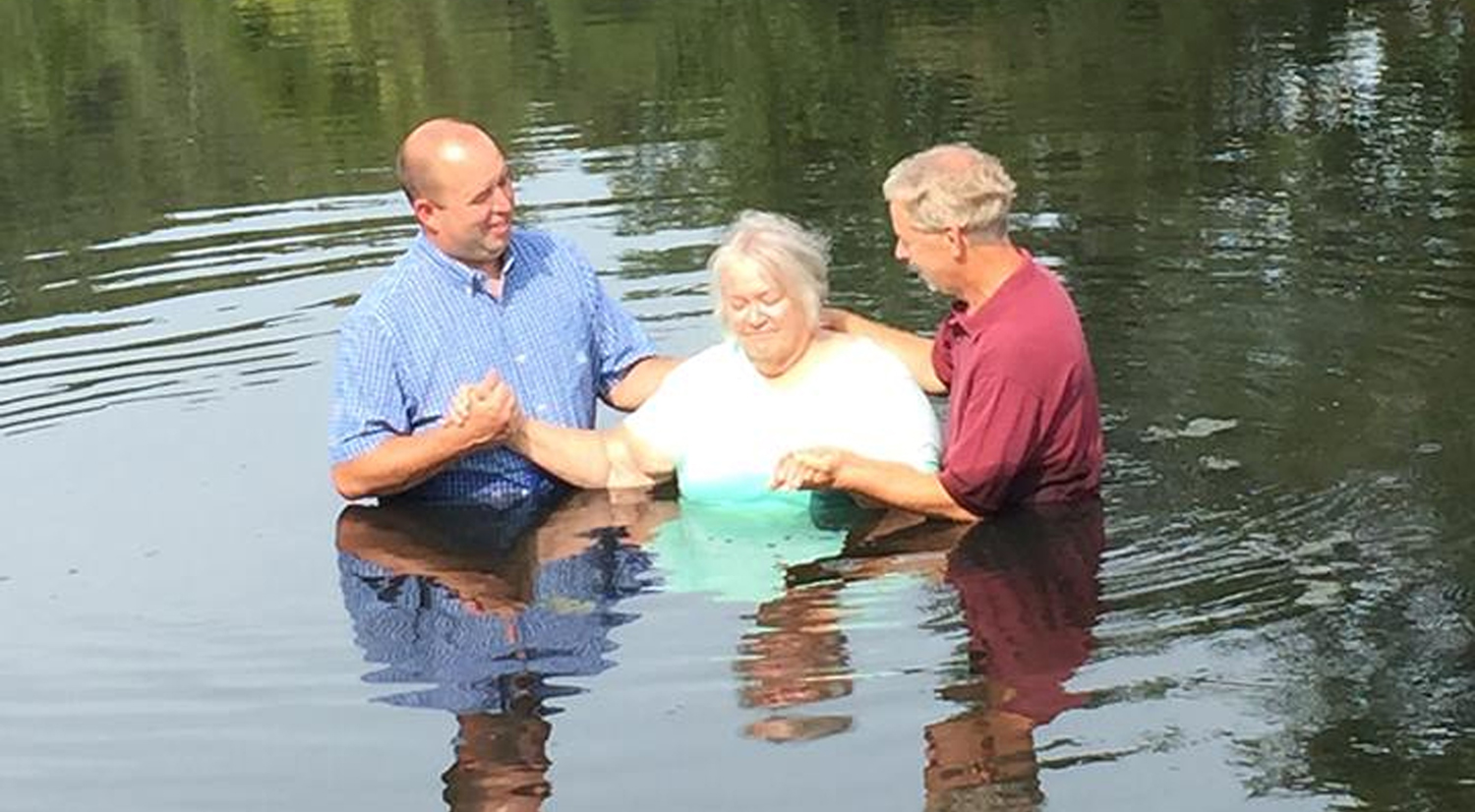 Baptized by Water & the Spirit - Aug 2015