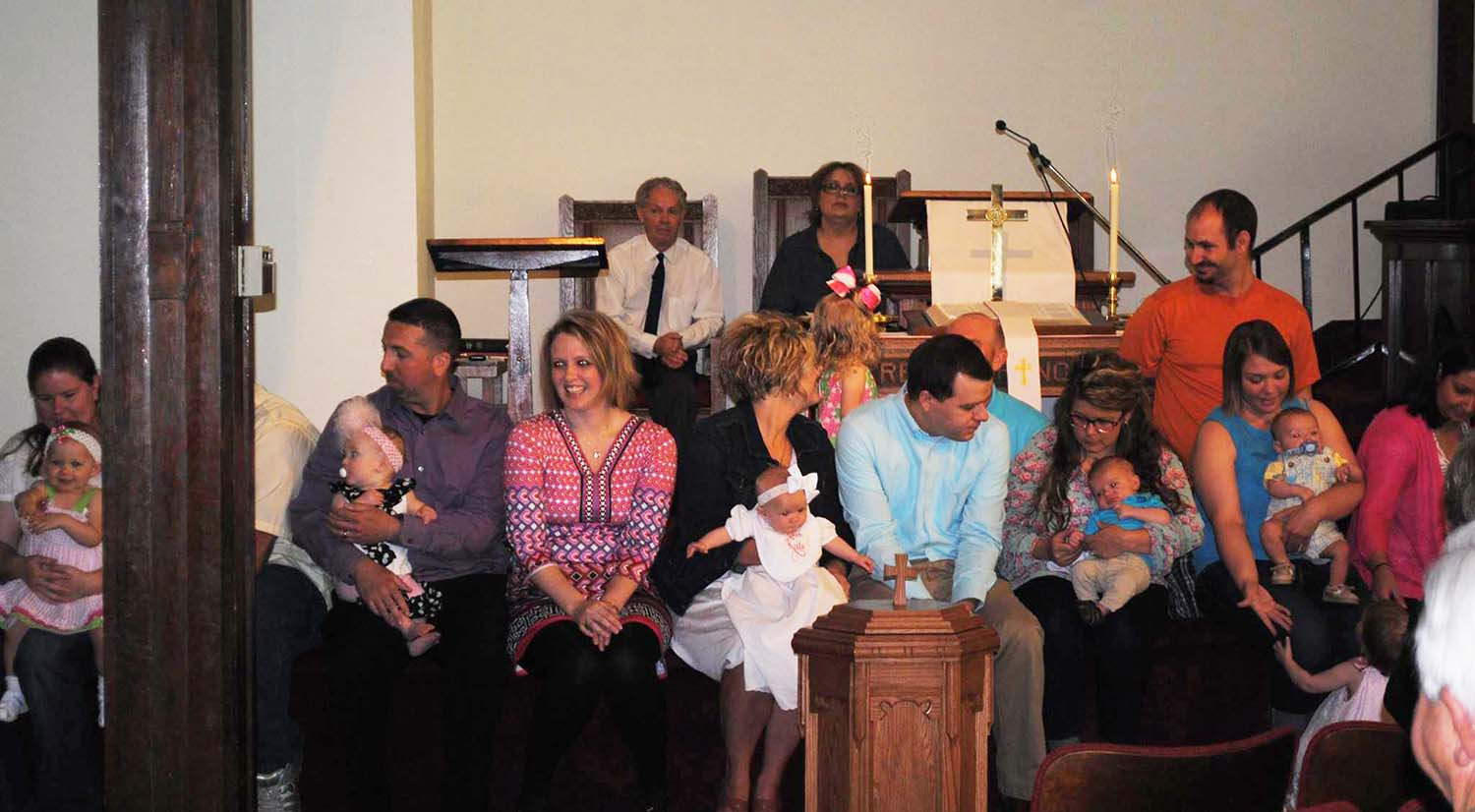Baby Bring Your Family to Church Sunday - 1 May 2016