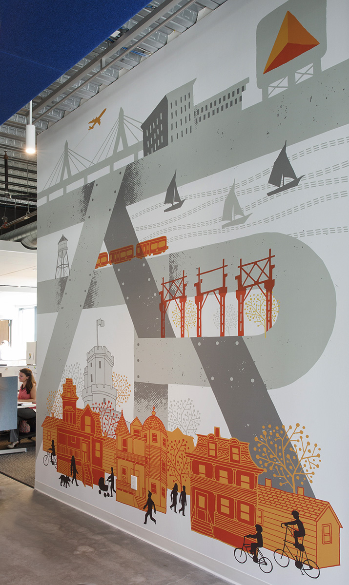Mural for Federal Reality