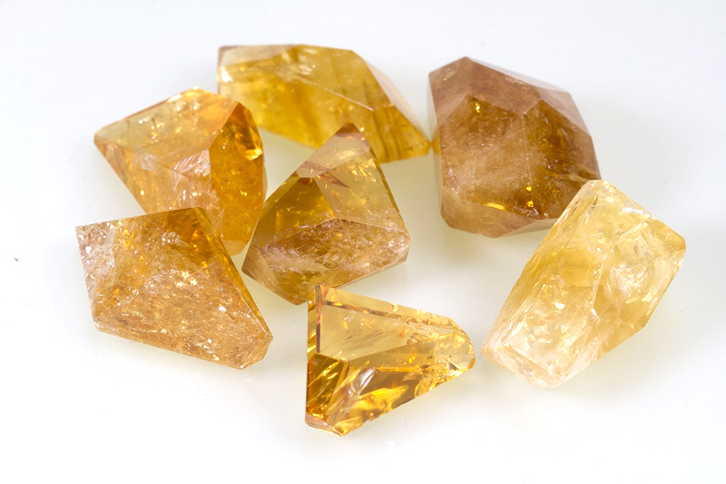 Citrine free-form rough