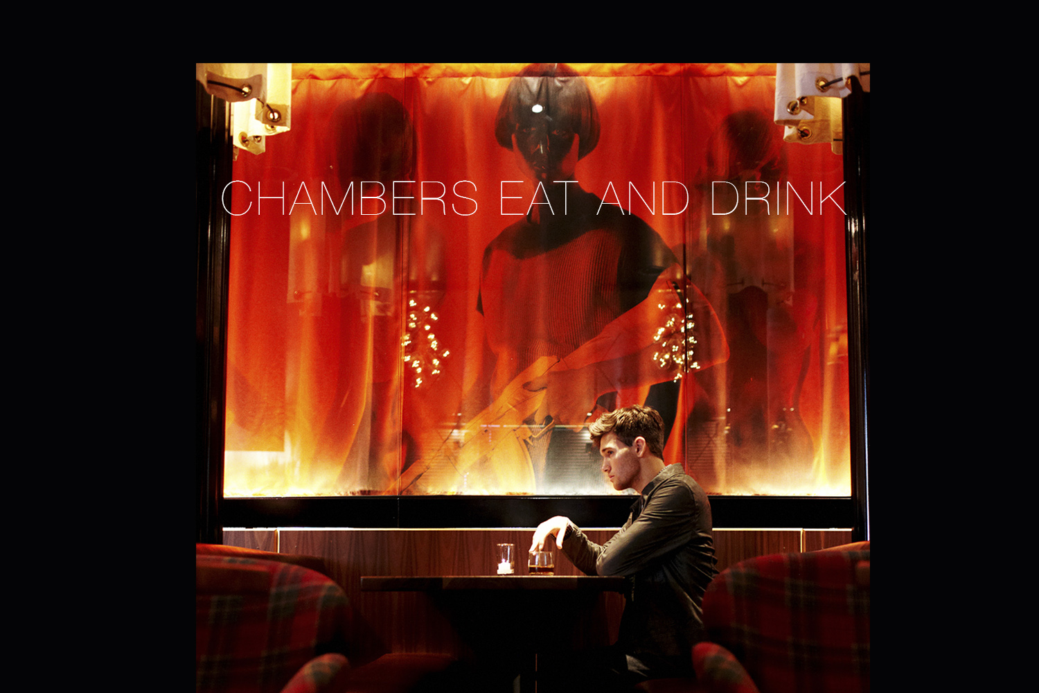 Chambers Eat and Drink, restaurant and lounge by Mister Important Design