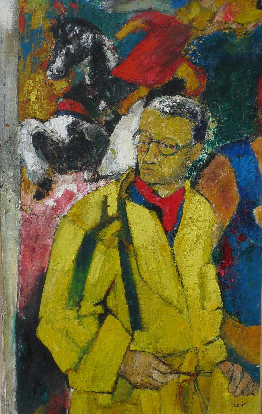 Autoportrait in yellow (c.1945-49)