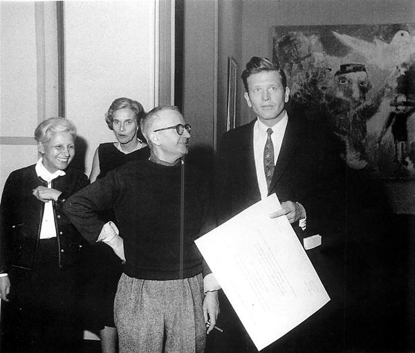 Lorjou with NYC mayor John Lindsay