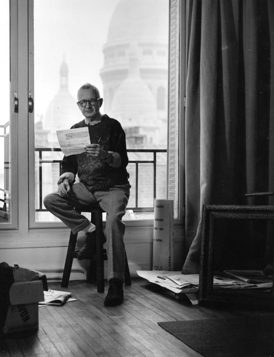 Lorjou in his Montmartre apartment