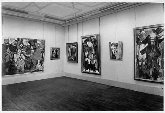 Galerie du Bac Paris, France  November 9, 1945 - December 8, 1945
