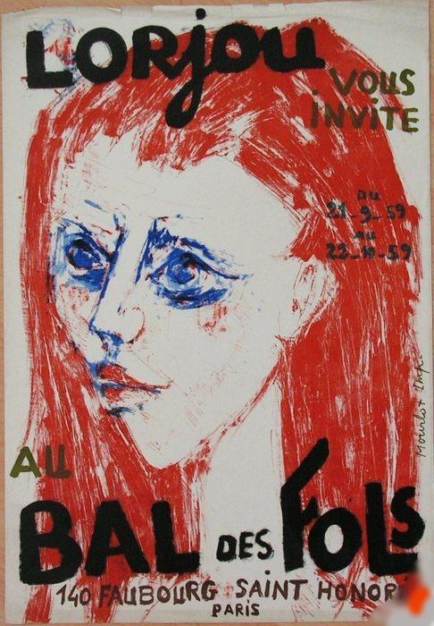 The Insane's Ball (Le Bal des Fols)     Gallerie Wildenstein   Paris, France    September 21, 1959 - October 22, 1959