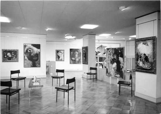 Whites and Blacks (Blancs et Noirs)     Galerie A.Gattlen   Lausanne, Switzerland    December 1964 - January 1965