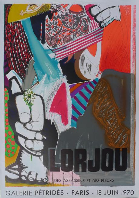 Murderers and Flowers (Des assassins et des fleurs)     Galerie Petrides   Paris, France   June 18, 1970