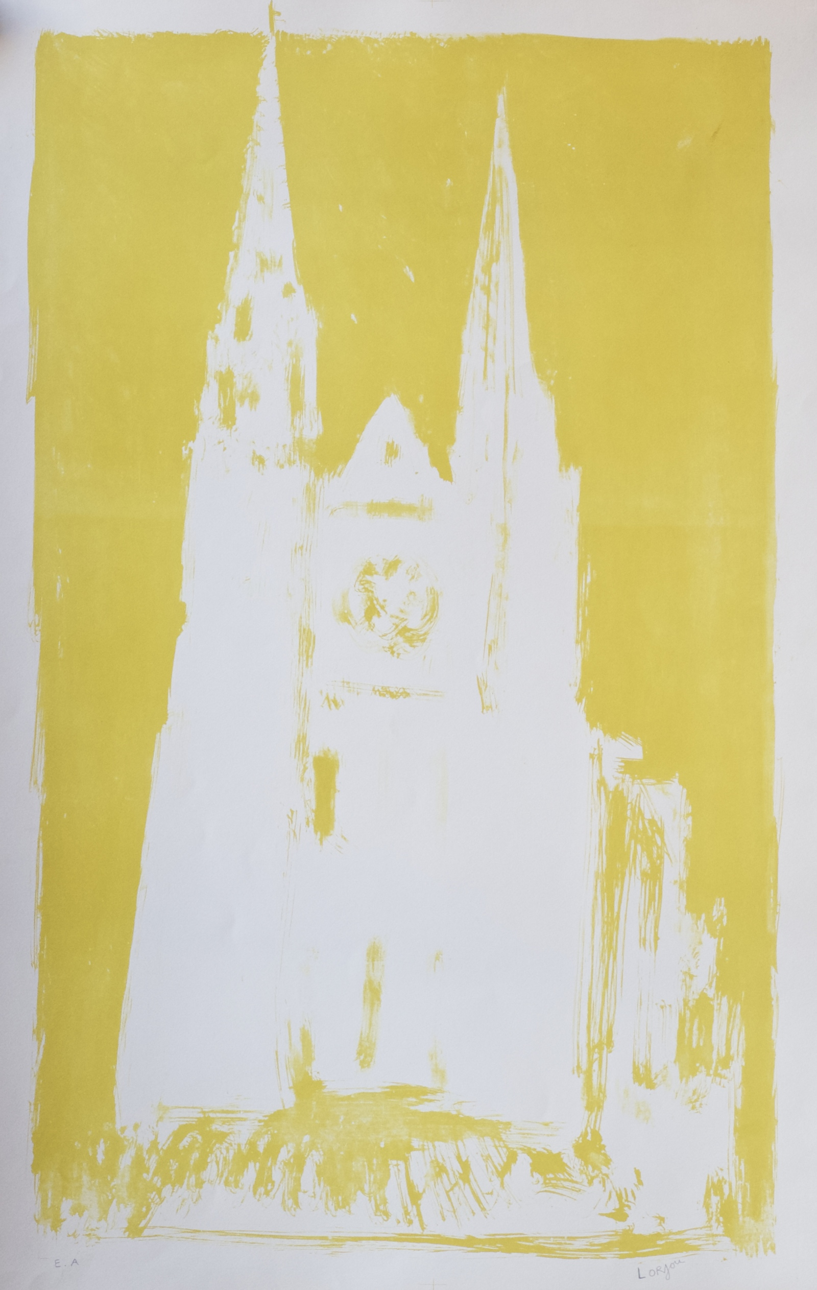 Great Yellow Cathedral (Grande Cathedrale Jaune) (c.1959-60)